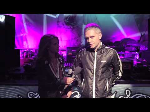 Sophie Interviews Mr Hudson at the Energy Sessions Arena sponsored by Relentless Energy Drink
