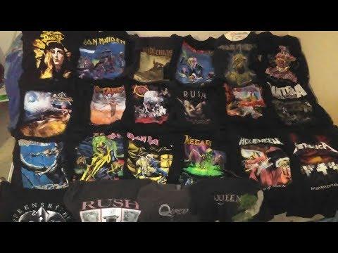 Mis Camisas Metaleras *My Metal Tshirts
