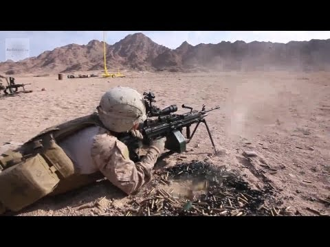 U.S. Marine Engagement Team Training With The Jordanian Marines in Southern Jordan | AiirSource