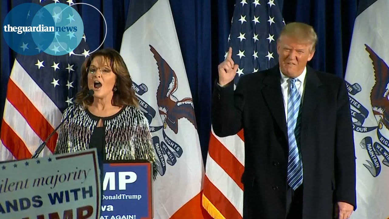 Sarah Palin: Vote Donald Trump and let's 'kick Isis ass' - YouTube
