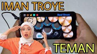 Download lagu IMAN TROYE - TEMAN | REAL DRUM COVER