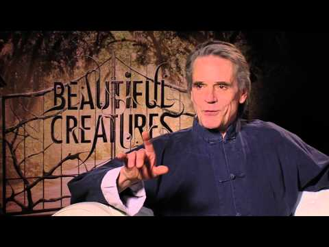 A Voice Lesson from Jeremy Irons
