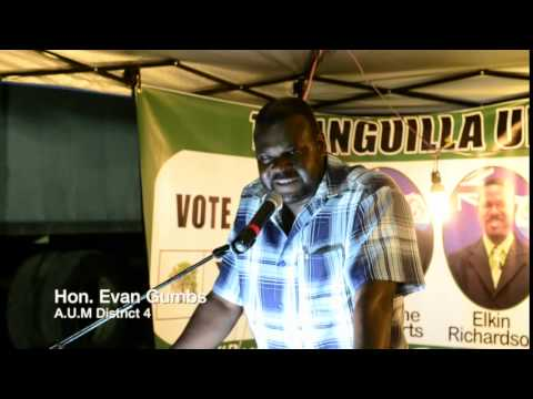 Hon. Evan Gumbs A.U.M District 4 5-7-2014