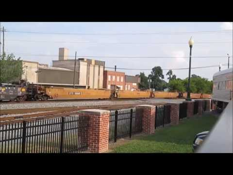 Monster Trains in Dalton, GA, with BIG a Power-moves, and Beat-up NS Engine