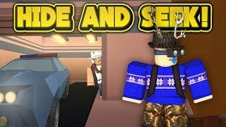 HIDE AND SEEK IN JAILBREAK! (ROBLOX Jailbreak)