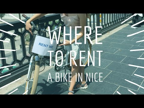 Where to rent a bike in Nice