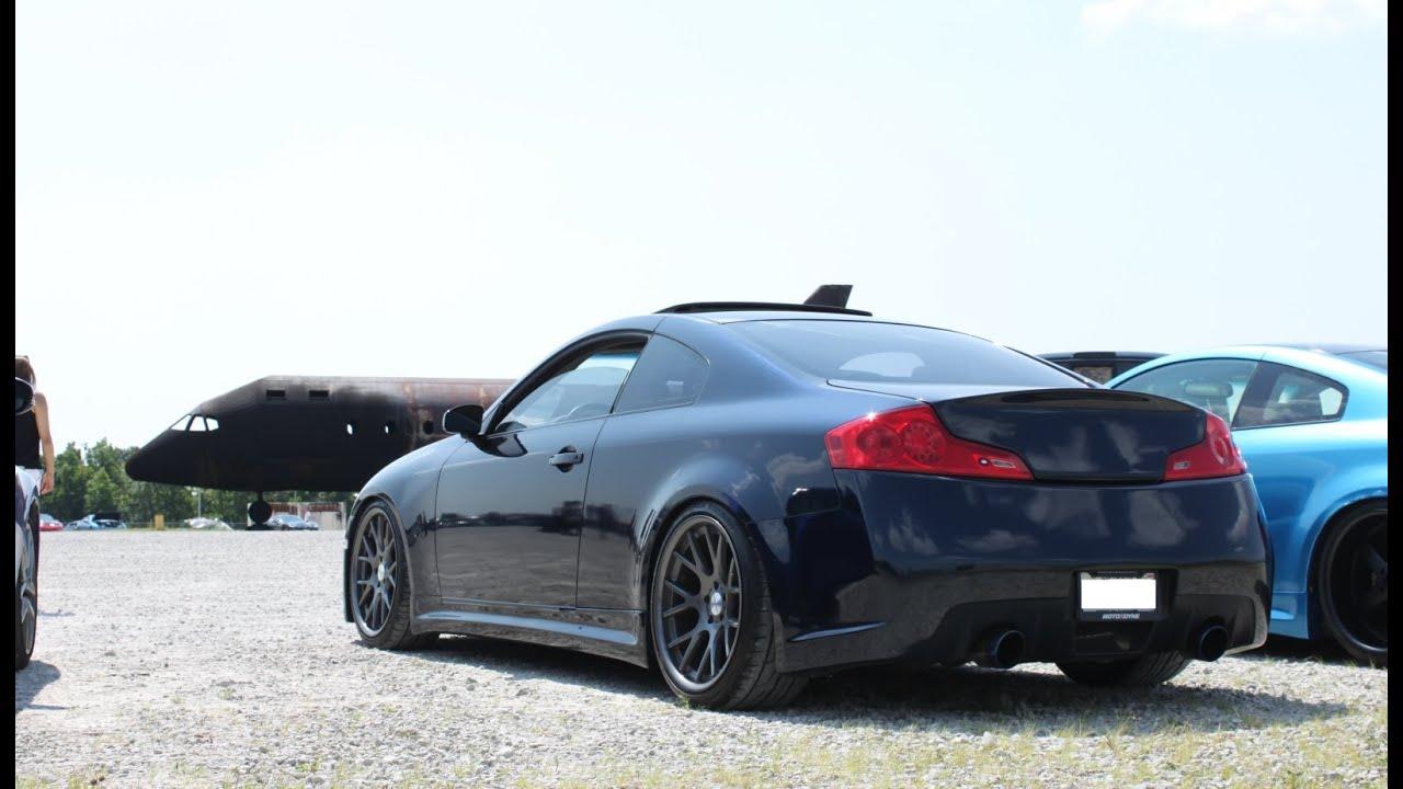 New Infiniti G35 Coupe >> Vossen Infiniti G35 Coupe Walkaround New Front Youtube