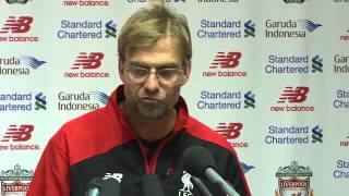 Jurgen Klopp: Liverpool fans leaving after Crystal Palace goal left me feeling alone