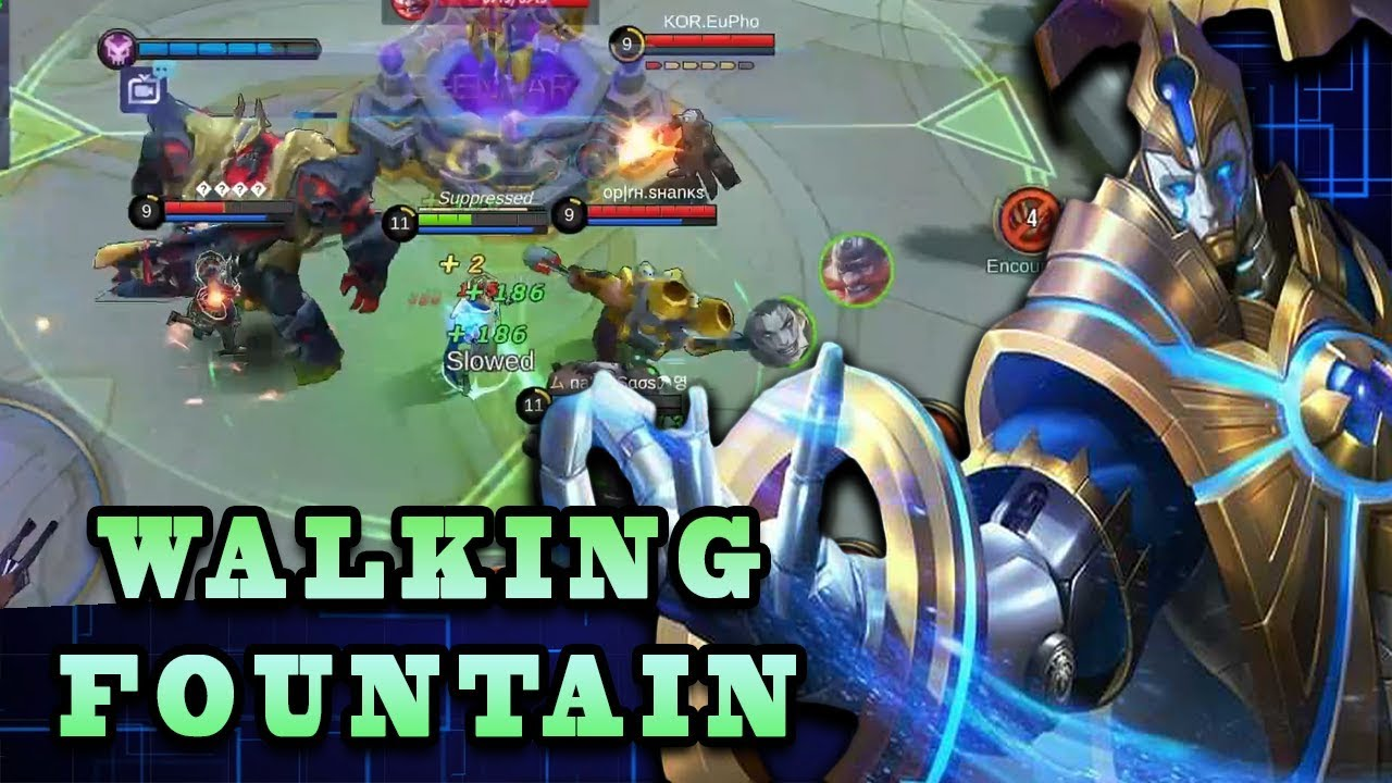 They Tried So Hard To Kill The Walking Fountain | Mobile Legends