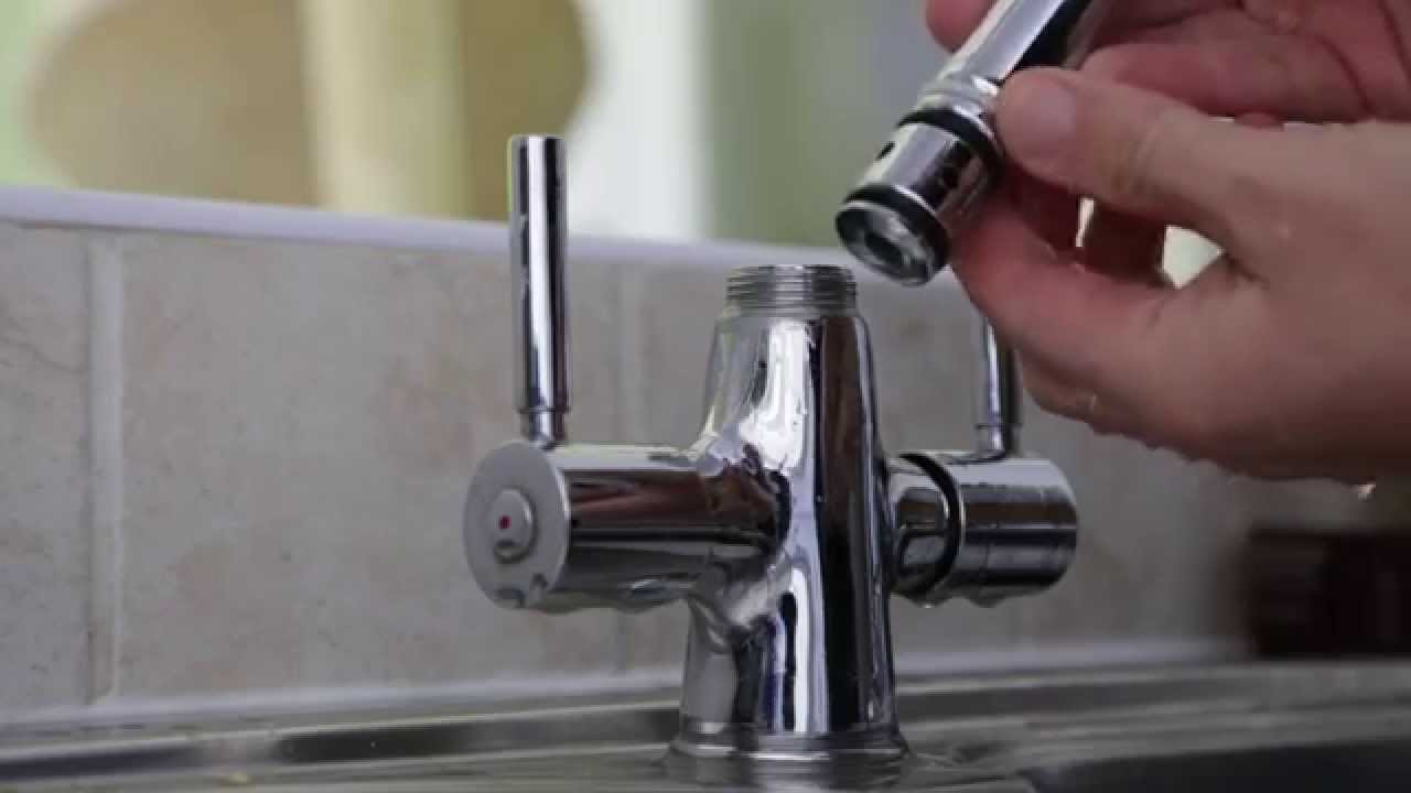 How to Repair Washer in Leaking mixer tap from Base by ...