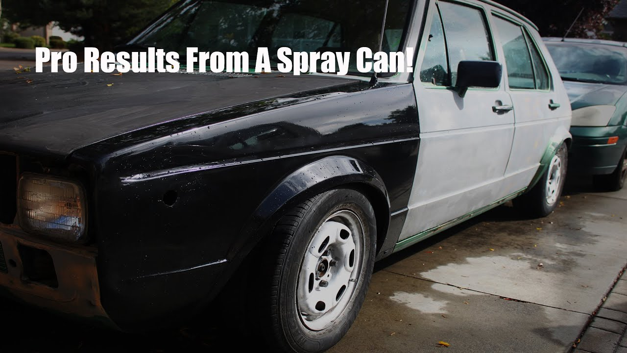Rattle Can Paint Job >> How To Make Rattlecan Spray Paint Look Professional - YouTube