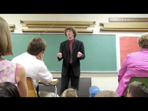"""Ryan Stalker's """"The Dot and the Line""""- NCFCA Natio..."""