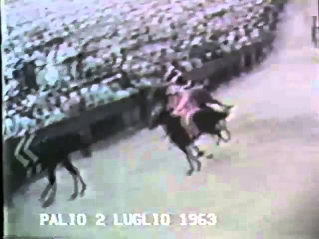 Palio 2 luglio 1963