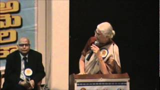 D Kameswari - 3rd Internation Telugu Literary Conference Houston TX March 10th 2012.wmv