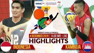 INDONESIA_VS_KAMBOJA_(3-0)_|_Highlights_Men's_Volleyball_|_SEA_GAMES_2019