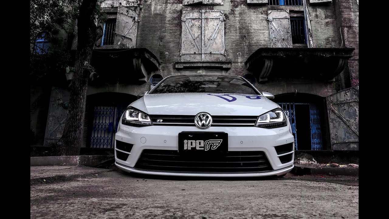 Vw Wallpaper Hd The New Ipe Exhaust Full System For Vw Golf R Youtube
