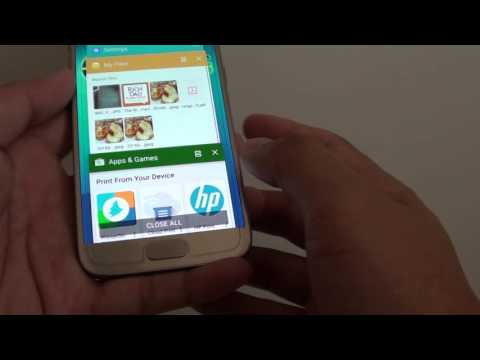 Samsung Galaxy S7: How to Close Apps