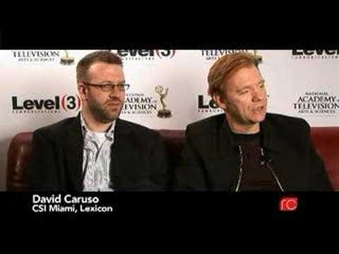 David Caruso - National Academy of Television - Interview