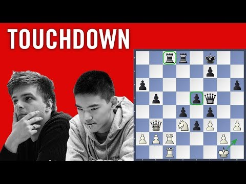Touchdown - Rapport vs Xiong | Chess.com Isle of Man International 2018