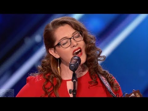America&39;s Got Talent  Mandy Harvey Deaf Singer Songwriter Inspires Simon & All to Try