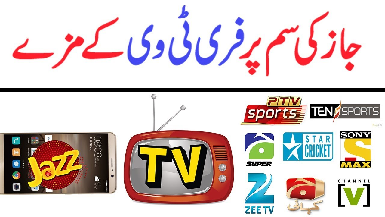 Mobilink Jazz Free TV Live Streaming 2018