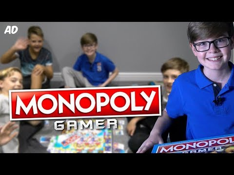 MONOPOLY GAMER!! w/ FRIENDS