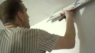 Шпатлёвка потолка под покраску(Сайт - http://vannajapodkljuch.ru Фейсбук - https://www.facebook.com/remont.vannoj На ролике шпатлевал потолок под покраску, оштукатуренны..., 2011-12-30T12:45:06.000Z)