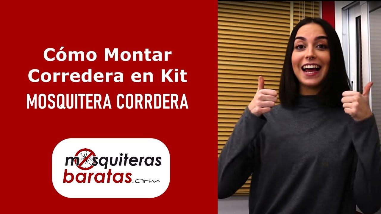 Mosquiteras Correderas En Kit De Facil Montaje Youtube