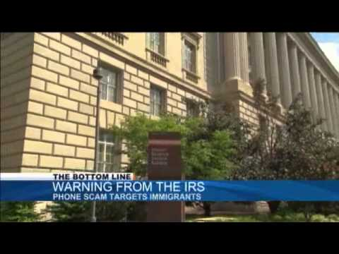 The Bottom Line : IRS Phone Scam Warning