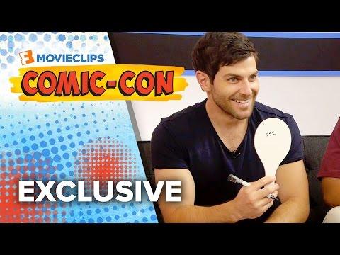 Tag It! Game - 'Grimm' Cast - Comic-Con (2015) HD