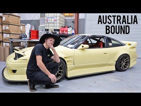 Cream S13 Goes to AUSTRALIA!