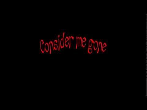 Consider Me Gone
