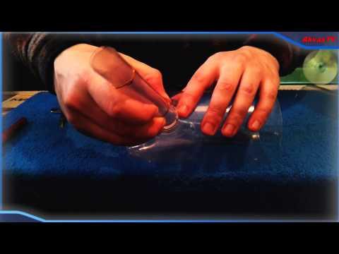 САМОДЕЛЬНЫЙ АЭРЛИФТНЫЙ ФИЛЬТР ДЛЯ АКВАРИУМА  ИЗ ПЕТ БУТЫЛОК (homemade aquarian filter)