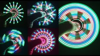 Assembling a LED HAND SPINNER, FIDGET TOY at home Video