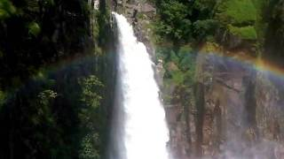 23-june-2011 Weinia Falls in Nongstoin, Meghalaya