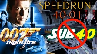 SPEEDRUN - 007 Nightfire any% in 40:01