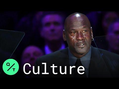 Michael Jordan Pays Tearful Tribute To Kobe Bryant
