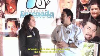 Entrevista Chef Antonio De Livier Congreso Ensenada Gastronómica   Hotel Coral & Marina