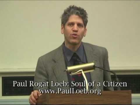 Paul Loeb: Soul of a Citizen