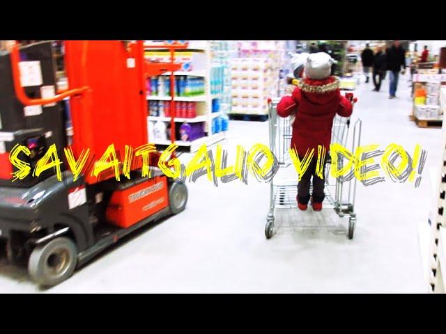#weekend #vlog 1 - mažas apsipirkimas DEPO /balandėlių balius / vaikai kepa tortus / Vegan Pipiras