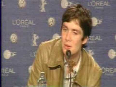Cillian Murphy at the Berlinale 2006 - press conference -