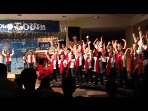 La Fiesta song from Christmas Performance 12/13