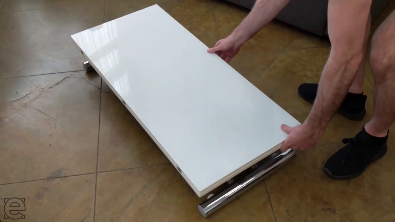 Transforming Space Saving Table  Expand Furniture
