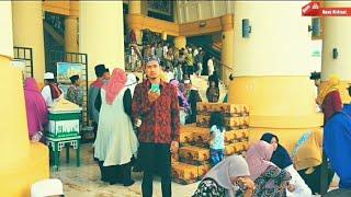 Beginilah suasana Islamic Center ketika Kedatangan Ustadz Das\x27ad Latif