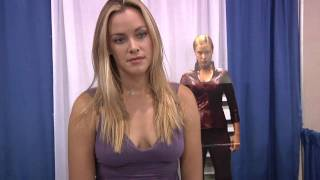 Kristanna Loken Terminator 3 Interviewed by Delphia's James Young