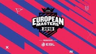 LoL - Origen vs. Illuminar Gaming - Partido 1 - Gran Final - European Masters 2018