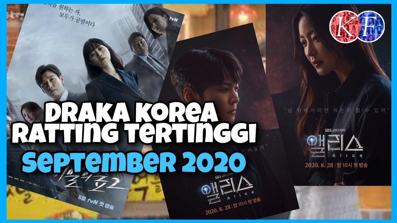 Drama Korea Ratting Tertinggi September 2020 - Drakor Terpopuler bulan ini
