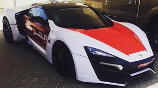 Lykan Hypersport Now Added To Abu Dhabi Police Fleet