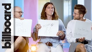 LANY's Jazzercise Moves & Flossing Habits: How Well Do You Know Your Bandmate?   Billboard