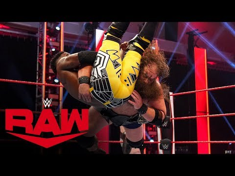 The Viking Raiders vs. Ricochet & Cedric Alexander: Raw, April 13, 2020